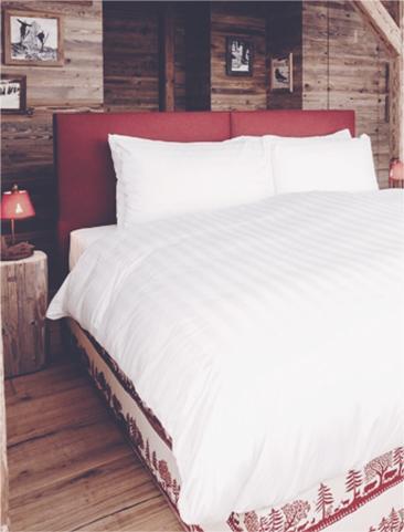 Кровать в стиле Этно - Whitepod